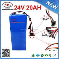 battery 24v / 24v battery / 24v 700w electric bike kit with battery / 720W Lithium Ion Battery 24V 20AH with PVC ,BMS ,Charger