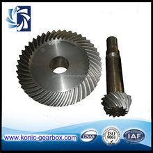 high precision bevel gear for ship machinery