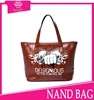 2015 european studded handbag reversible tote bag latest fashion genuine leather shoulder bag bulk wholesale handbags from China