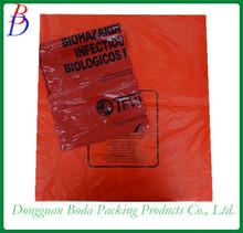Plastic Biohazard Healthy Bags/Medical waste bag