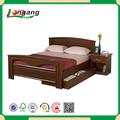 Muebles de madera cama doble cama de madera