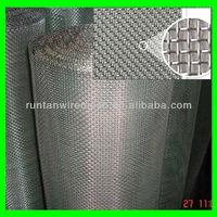 galvanized iron square mesh window screen wire mesh (really factory)