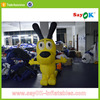 promotion giant inflatable cartoon dog toy decoration