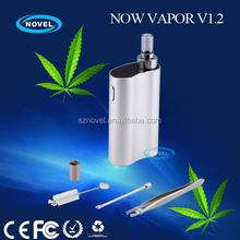 Reliable vaporizer supplier newest 3 in 1 vaporizer dry herb&wax&oil vaporizer titan 2 hebe with Zero Risk Commitment