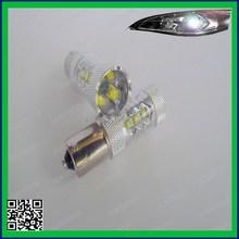 16 LED 80W 900 LM base 1156 P21W CANBUS COB fog light for Toyota RAV4 car sensor