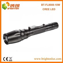 Professional Manufacturer CREE XML T6 LED brightest tactical flashlight