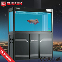 SUNSUN new view fish tank fish farming tanks for sale with CE GS CCC