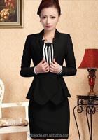TOP OEM office uniform designs 2014 for women
