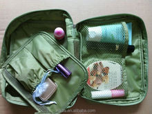 Korean Design Waterproof foldable cosmetic bag organizer tas kosmetik murah