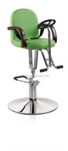 2015 A series of Kids salon chairs/Vivid Kids beauty furniture/Green summer salon chairs