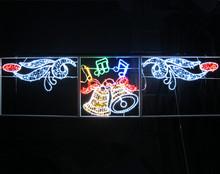 2015 hot christmas motif street pole light ZhongShan China High Quality Commercial Pubilc Decoration Light factory turkey