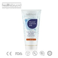 CE approval alcohol free medical sex personal lubricant jelly