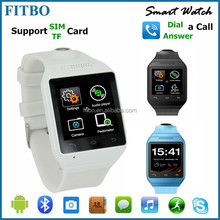 Global Excellent SIM TF Weather GSM850/900/1800/1900 FTB20 smart watch cheap