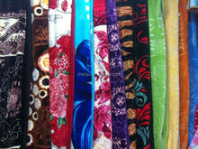 Blanket Stock 100% Polyester raschel blanket/mink blanket