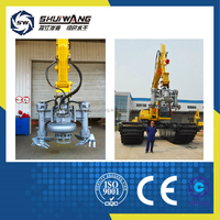 Hydraulic/electric dredging pump with good wear-resistant properties