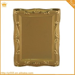High Quality gold square metal blank plate