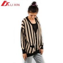 Cardigan de tricô de algodão mulheres sweaters 2014 outono inverno