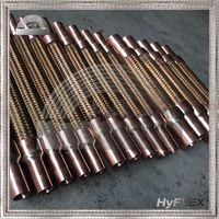 bronze vibration absorbers / vibration eliminators used in refrigeration and air conditioning systems