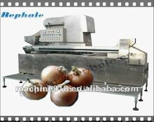 Fully automatic Onion peeling machine with onion root cutter 008615638185390
