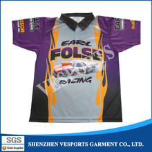 Custom sublimated xxxl motocross racing shirt