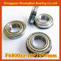 brida de rodamiento de bolas de la venta caliente F6800zz/high rendimiento de los rodamientos brida 10x19x5 mm