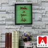 frameless led crystal light frame funny wall stage light frame China Manufacturer Wall Decor PS photo frame
