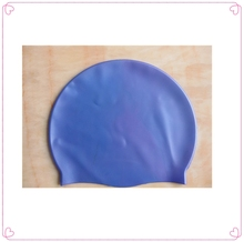 comfortable silicone swimming caps/Ear protect silicone swimming caps