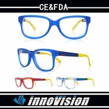 De los cabritos lindos lentes, acetato de colores y gafas marco óptico TR90