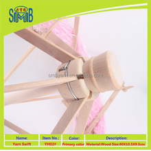 2015 hot selling wood yarn support China factory wholesale