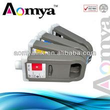 Zhuhai Aomya best selling printer ink cartridge for canon ipf 8100 9100 8110 9110 compatible ink cartridge 700ml 12color pfi 701