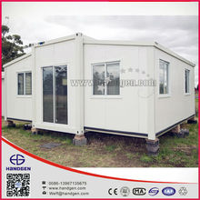 Foldable container house with EPS/PU sandwich panel