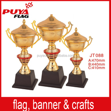 Popular Sport Metal Trophy Cups/Hotsale Colored Heavy Replica Trophies