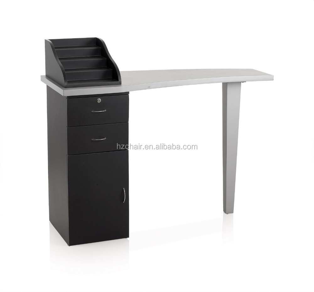 Wholesale 2015 hot sale painting salon and spa nail desk for Manicure table with exhaust fan