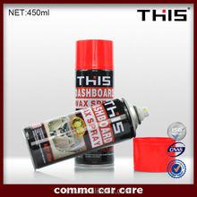 aerosol spray dashboard polish