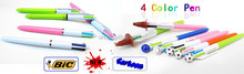2015 New DIY Cartoon four color pen 4 color pen