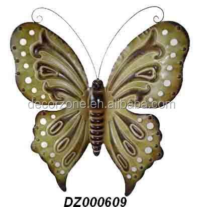 m 233 tal papillon en fer forg 233 d 233 coration murale autres d 233 cors maison id de produit 60119381348