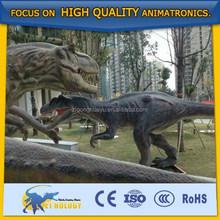 Life size jurassic dinosaur 3d model reproduce jurassic park