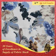 Cotton spandex twill printing fabric(15081117)