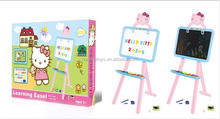 Educational Baby Toys Kitty Cat Double Sided Drawing Board For Kids BT-011571