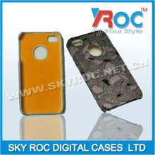 2012 New style fabric paste for iph 4s cell phone case