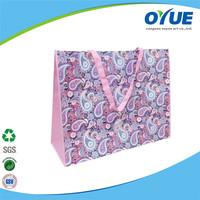 Fashion Shopping recycled non woven foldable shopping bag