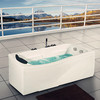 Indoor acrylic portable bathtub for one people M-8107
