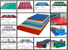 Construction Material Steel Profile Corrugated Steel roof sheet/ppgi roof sheet