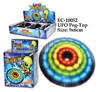 EC-10052 Led UFO Peg-Top Toys