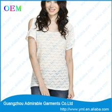 wholesale beautiful women t shirt with new design