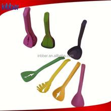 (SN122) Creative design magnetic handle nylon kitchen utensil set