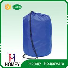 wholesale magic design nylon laundry drawstring bag with zipper