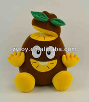 Plush soft Kiwi fruit toy