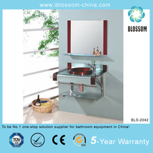 New design coloured glass washing basin