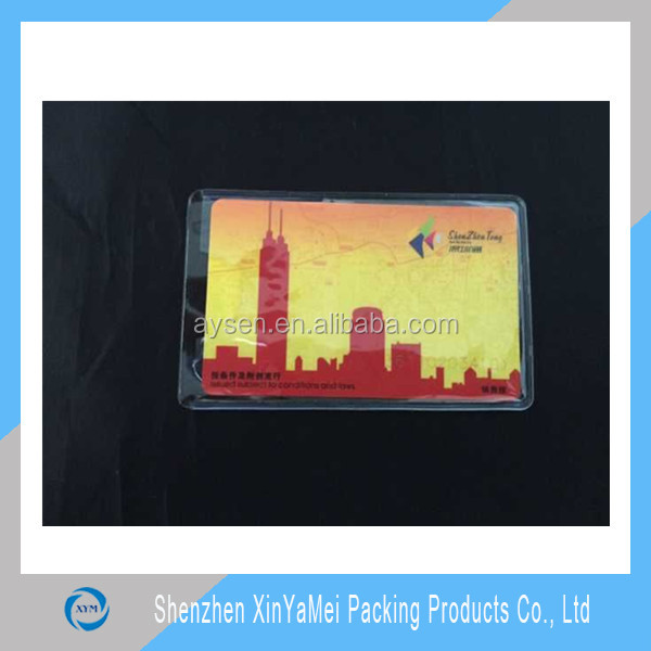 Plastic business ID pvc card holder